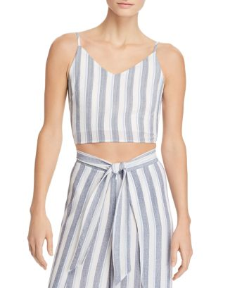 Striped Cropped Top   100% Exclusive by Aqua