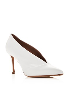 Tabitha Simmons - Women's Strike Leather Pointed Toe Pumps