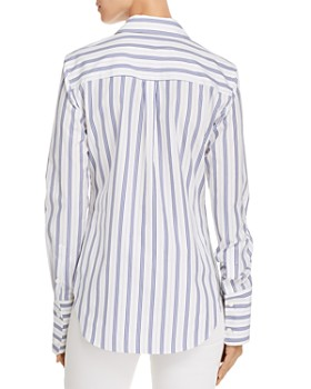 Theory - Striped Button Down Shirt