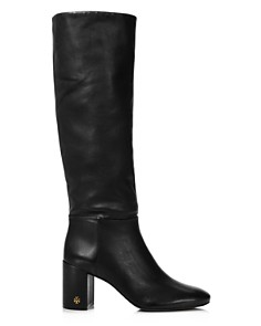 Tory Burch - Women's Brooke Slouchy Leather Tall Boots