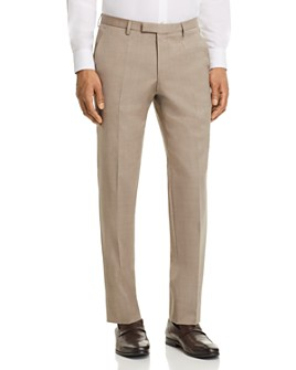 BOSS - Leenon Regular Fit Basic Dress Pants
