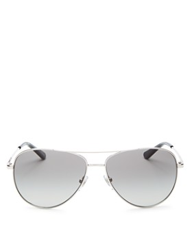 9905535b35676 Tory Burch - Women s Brow Bar Aviator Sunglasses