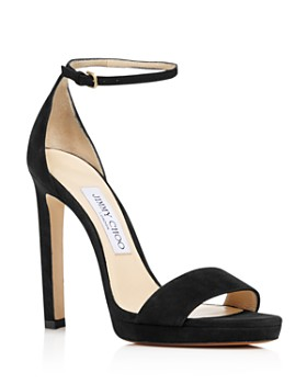 Jimmy Choo - Women's Misty 120 Suede Platform High-Heel Sandals