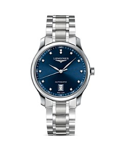 Longines Master Collection Watch with Diamonds, 38.5mm - Bloomingdale's_0