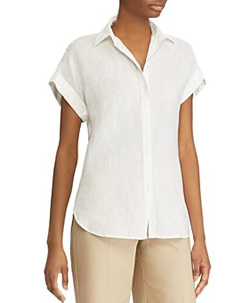 Ralph Lauren - Dolman-Sleeve Button-Down Shirt