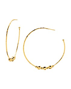 Gorjana - Taner Beaded Hoop Earrings