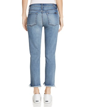 7 For All Mankind - Roxanne Ankle Straight Jeans in Canyon Ranch