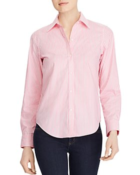 Ralph Lauren - Pinstriped No-Iron Shirt