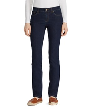 Ralph Lauren - Slim Modern Curvy Jeans in Rinse