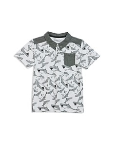 Sovereign Code Boys' Shark-Print Pocket Polo - Little Kid, Big Kid - Bloomingdale's_0