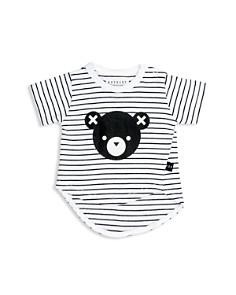 Huxbaby Unisex Striped Asymmetrical Bear Tee - Baby - Bloomingdale's_0