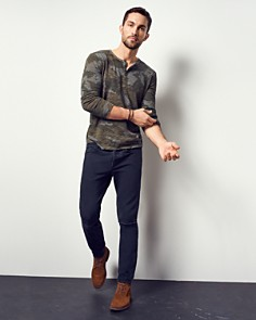 ATM Anthony Thomas Melillo - Camouflage Long Sleeve Henley Shirt - 100% Exclusive