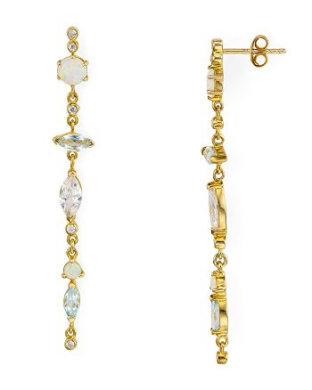 Argento Vivo - Linear Drop Earrings