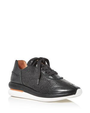 By Kenneth Cole Raina Ii Sneaker, Black Leather
