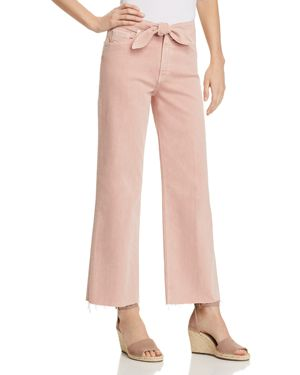Nellie Wide-Leg Jeans In Vintage California Rose