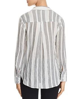 Bella Dahl - Metallic Striped Shirt