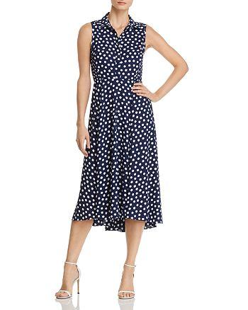 kate spade new york - Cloud Dot-Print Midi Dress