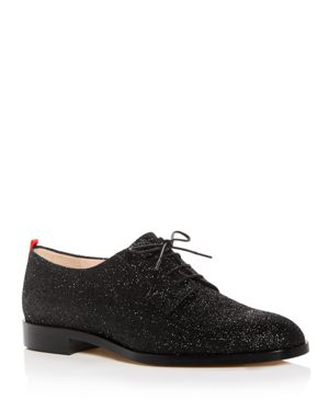 Sjp by Sarah Jessica Parker Women's Ace Glitter Plain Toe Oxfords