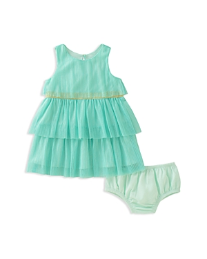 kate spade new york Girls Tiered Pleated Dress  Bloomers Set  Baby