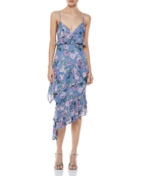 La Maison Talulah - Here and Now Ruffled Floral Dress