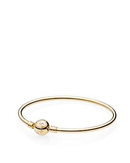 Pandora - 14K Gold Bangle Bracelet