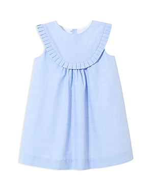 Jacadi Girls RuffleBib Dress  Baby