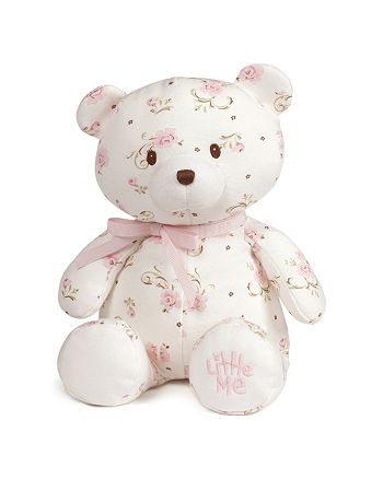 Gund - Rose-Print Teddy Bear - Ages 0+