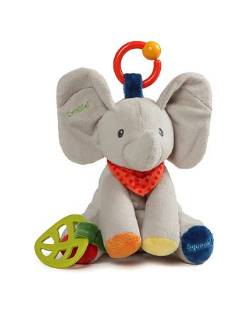 Gund - Flappy Elephant Activity Toy - Ages 0+