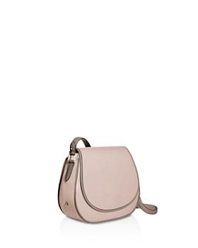 1 Atelier - Mini Leather Saddle Bag