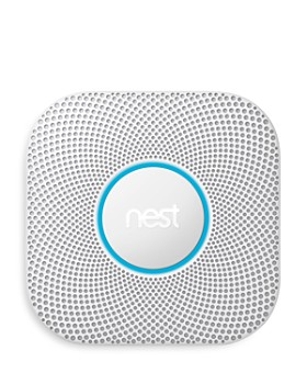 Google - 2nd Generation Protect Smoke and Carbon Monoxide Alarm