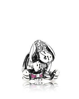 Pandora - Sterling Silver & Enamel Disney Eeyore Charm