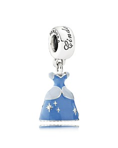 PANDORA Sterling Silver Disney Cinderella's Dress Drop Charm - Bloomingdale's_0