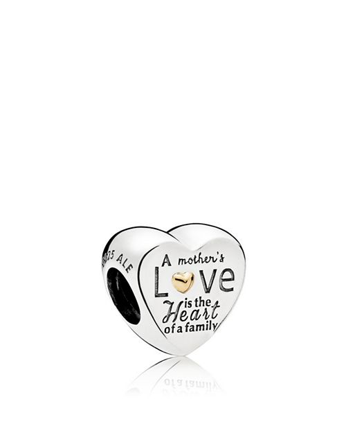 PANDORA - Sterling Silver Heart of the Family Charm