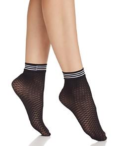 Pretty Polly Diamond Fishnet Ankle Socks - Bloomingdale's_0