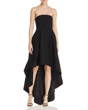 C/MEO COLLECTIVE ENTICE STRAPLESS GOWN