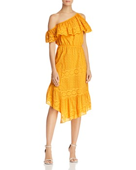 Joie - Corynn One-Shoulder Lace Dress