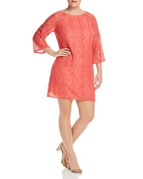 Adrianna Papell Plus - Marni Lace Shift Dress
