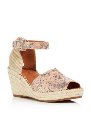 Gentle Souls Women's Charli Espadrille Wedge Sandals 2964740