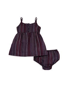 Splendid - Girls' Stripe-Print Dress & Bloomers Set - Baby