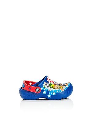 Crocs x Nickelodeon Boys' Paw Patrol Fun Lab Clogs - Walker, Toddler, Little Kid
