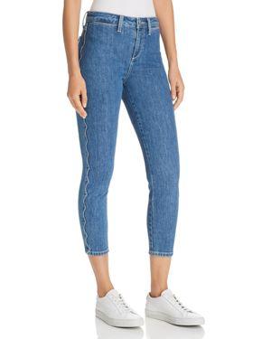 Charlie High Waist Crop Skinny Jeans, Dollie