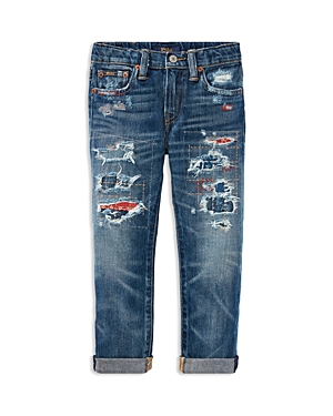 Polo Ralph Lauren Boys Sullivan Slim Denim Jeans  Little Kid