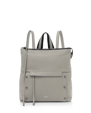 Noho Leather Backpack - Grey