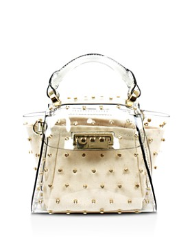 ZAC Zac Posen - Eartha Mini Swarovski Crystal Top Handle Satchel