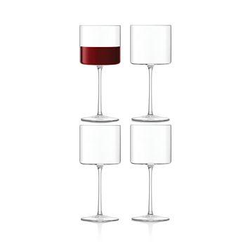 LSA - International Otis Red Wine Glass, Set of 4