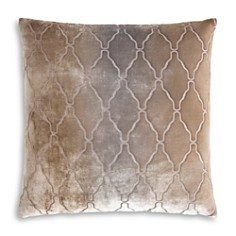 "Kevin O'Brien Studio - Arches Velvet Decorative Pillow, 18"" x 18"""