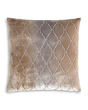 "Kevin O'Brien Studio - Arches Velvet Decorative Pillow, 18"" x 18"""