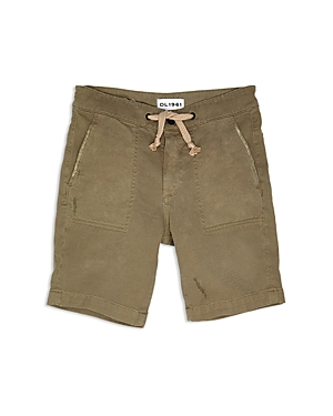 DL1961 Boys Distressed Utility Shorts  Big Kid