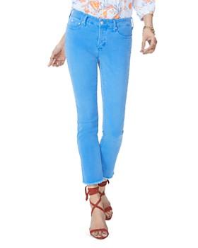 NYDJ - Sheri Slim Frayed Ankle Jeans in Wave