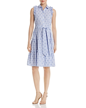 kate spade new york Sleeveless Palm-Tree-Print Dress